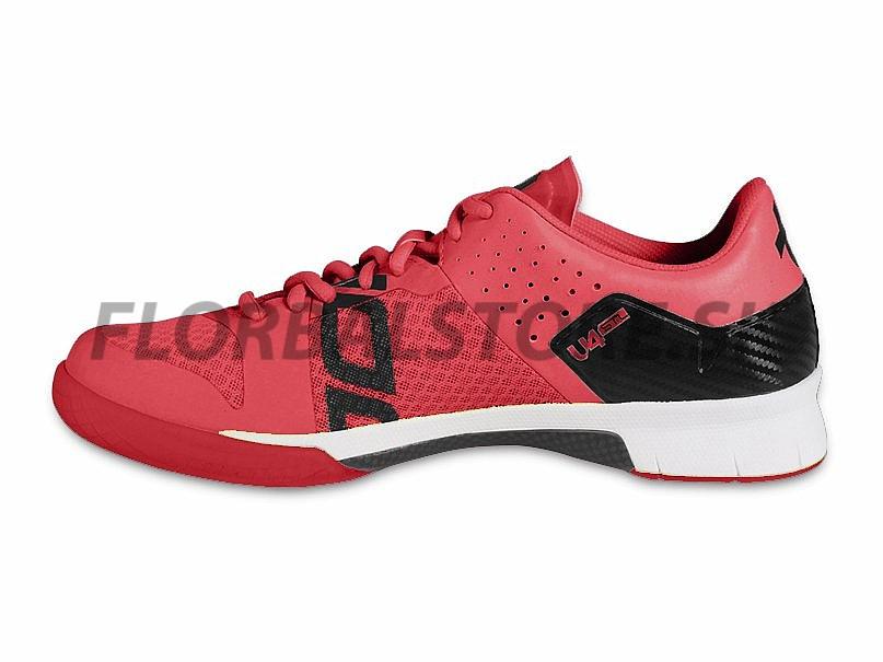 Unihoc U4 STL LowCut Lady red florbalová obuv  f1c98eaed74