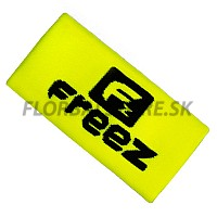 FREEZ potítko QUEEN WRISTBAND LONG yellow/black