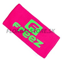 FREEZ potítko QUEEN WRISTBAND LONG pink/lime