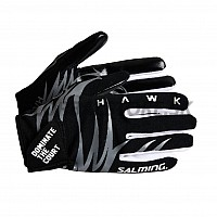 Salming brankárske rukavice Hawk Goalie Gloves Black/Grey 18/19