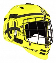 Unihoc Shield Mask Yellow/Black