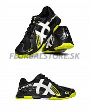 Unihoc U3 Power Men black / lime florbalová obuv