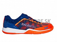SALMING Falco Men Limoges Blue/Orange Flame sálová obuv 18/19