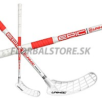 UNIHOC Epic Bamboo 29 white/neon red 16/17