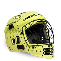 PRECISION GOALIE HELMET Jr yellow/black