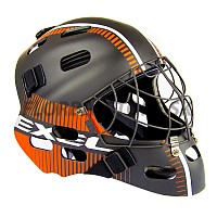 EXEL S80 HELMET SR/JR black/orange brankárska maska 18/19